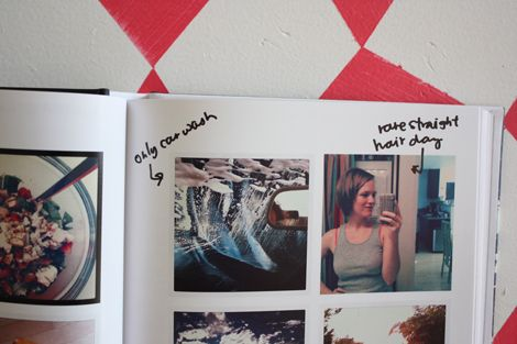 instagram blurb book by @elise blaha cripe with handwriting added in. I going to do this <3