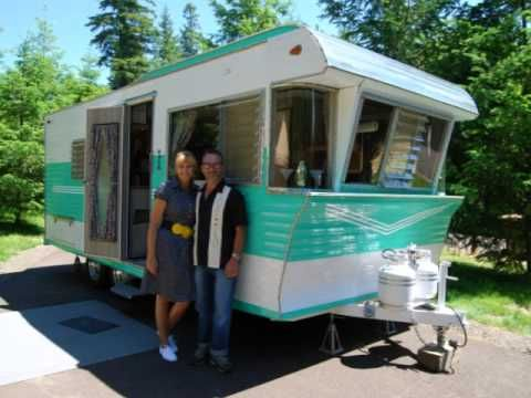 Restored 1962 Terry Vintage Trailer