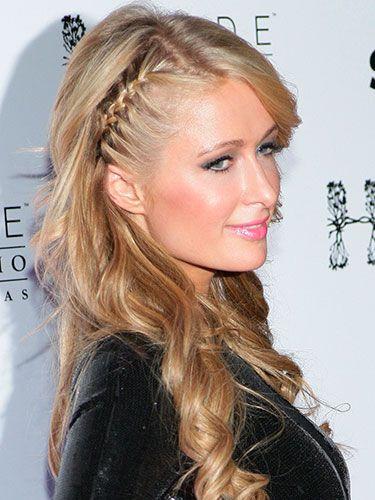 Phenomenal Braided Hairstyles Paris Hilton And Hairstyles On Pinterest Hairstyle Inspiration Daily Dogsangcom