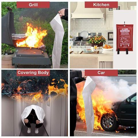 Emergency Fire Blanket – Survival Revived