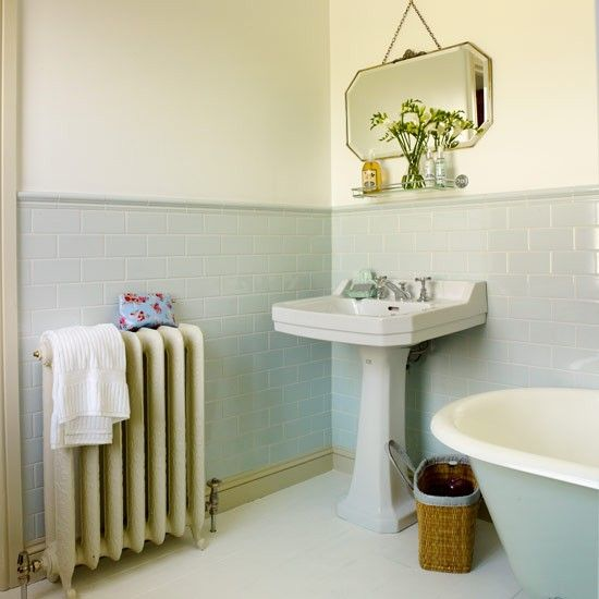 Period fittings | Bathroom makeover | bath | shower | Makeover | Ideal Home | Housetohome