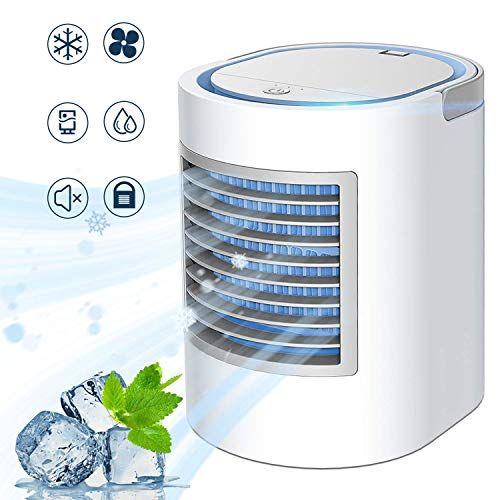 Enklen Portable Air Conditioner Personal Mini Air Cooler Quiet