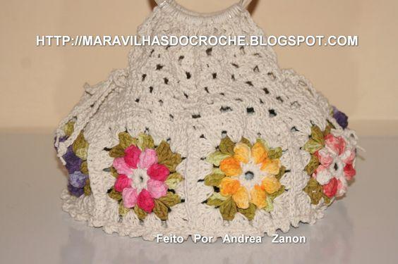 εïз MARAVILHAS DO CROCHE εïз: Porta-Pratos de Croche