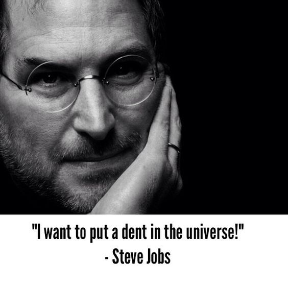 I'm pursuing a dream job in a dream location this week. That inspired me to rewatch (I've seen it at least 2 dozen times) Steve Jobs' awesome commencement speech at Stanford University a few years back. It also reminded me of this quote by jobs. My life passion as well.