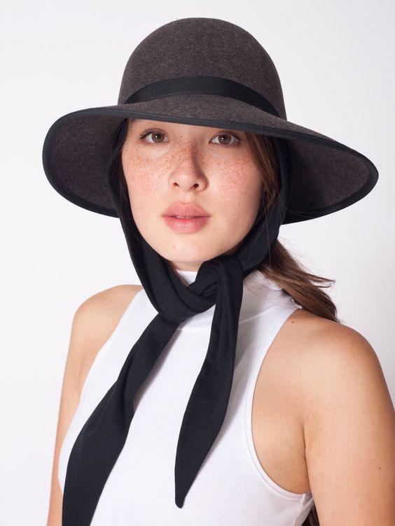 Scarf Tie Hat | American Apparel