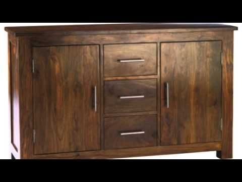 Sheesham Wood from India is used to manufacture some very hard and durable solid wood furniture