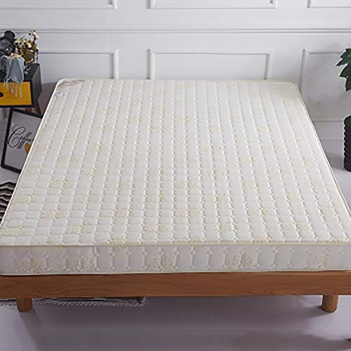 Memory Foam Mattress Quilted Polyester Living Room Bed Roll Thicken Non Slip Soft Comfort Luxury Floor Mat Milky 9 Bed In Living Room Luxury Flooring Mattress