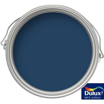 Dulux Feature Wall Sapphire Salute - Matt emulsion - 0.05L Tester at Homebase -- Be inspired and make your house a home. Buy now.