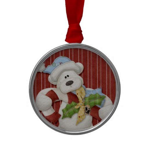 Teddy Bear Christmas Christmas Ornaments from Zazzle.com