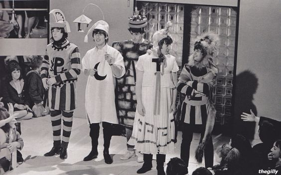 """January 10,1964: The Beatles telly special """"Around The Beatles"""""""