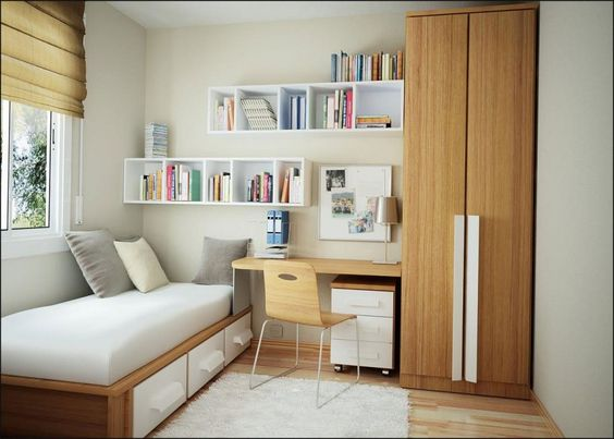 Small Bedroom for Teenager's Needs : Cool Small Bedroom