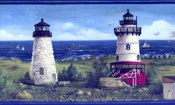 Lighthouse Interior Design | border wallpaper interior interiordesign lighthouse border lighthouse ...