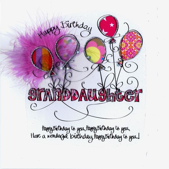 Granddaughters, Birthdays And Happy On Pinterest