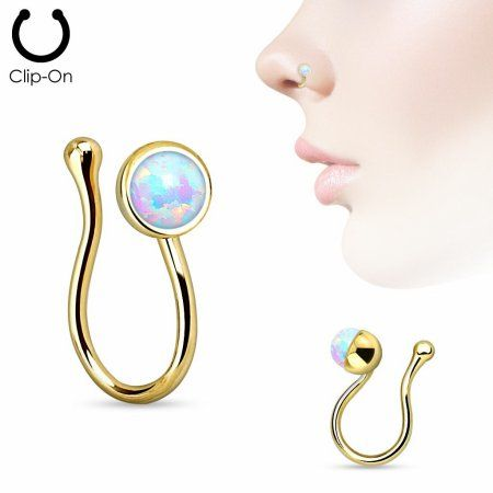 Jewelry Fake Nose Rings Nose Ring Stud Nose Piercing