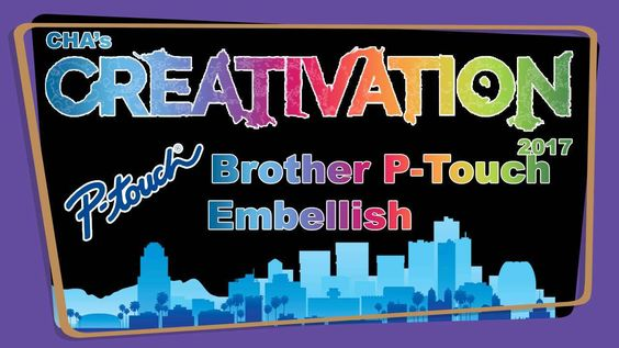 Brother P-Touch Embellish - Creativation 2017 - http://www.craftsbytwo.com/brother-p-touch-embellish-creativation-2017/ The P-Touch Embellish from Brother lets you print your own customized ribbon or tape from this inexpensive machine. Join us for a demonstration!