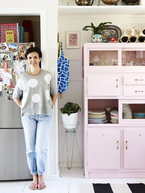 ATELIER RUE VERTE , le blog: Australie / La maison colorée d'une illustratrice /