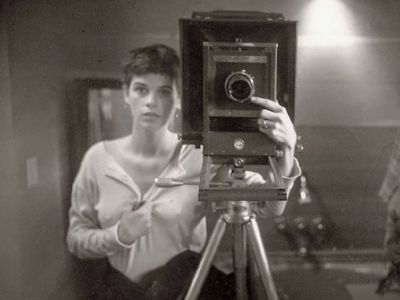 Photographic Artist and Photogravure Printmaker Sally Mann in 1974.