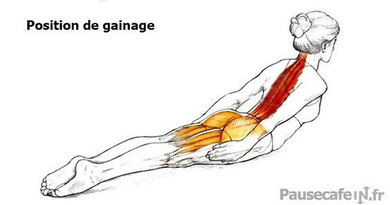 Mal de dos : un exercice rapide pour améliorer votre posture sans effort