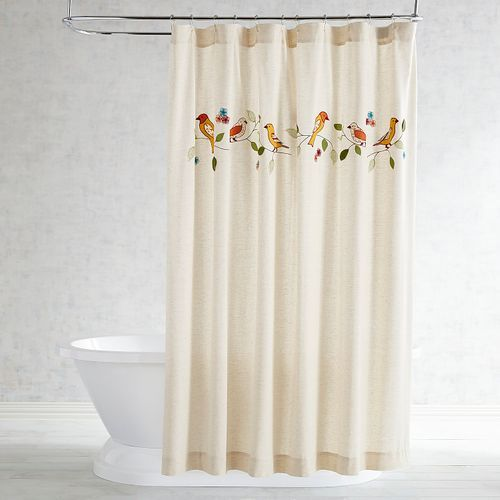 Birds On A Branch Shower Curtain Shower Curtain Shower Curtains