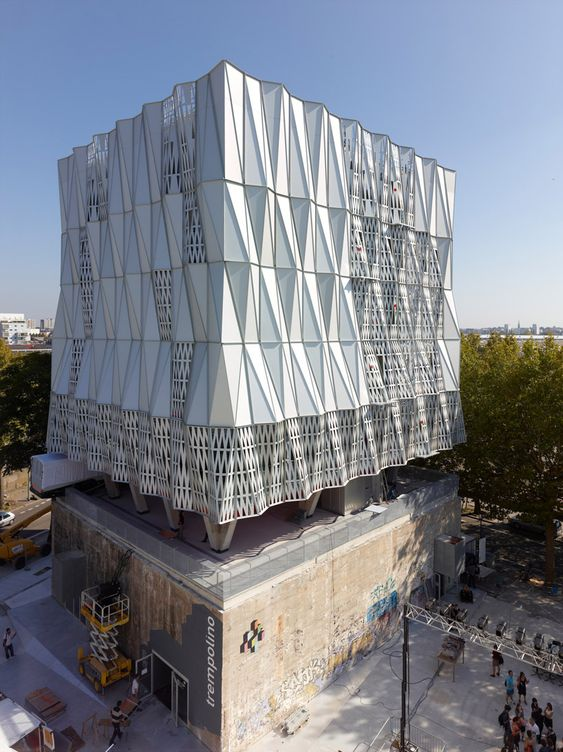 La Fabrique, a performing arts complex created in an unutilized industrial and shipyard area in Nantes, France by Tetrarc Architects: Modern Architecture, Architecture Spaces, Amazing Architecture, Concert Hall