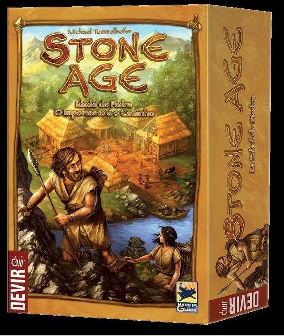 STONE AGE - Jogo de Tabuleiro