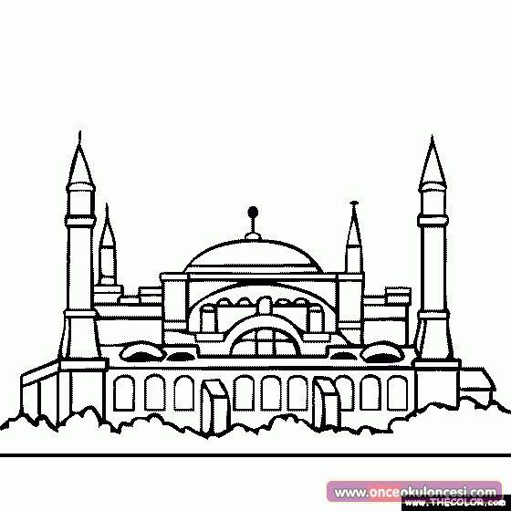 Ayasofya Muzesi Hagia Sophia Antika Seyahat Posterleri Konsept Sanati