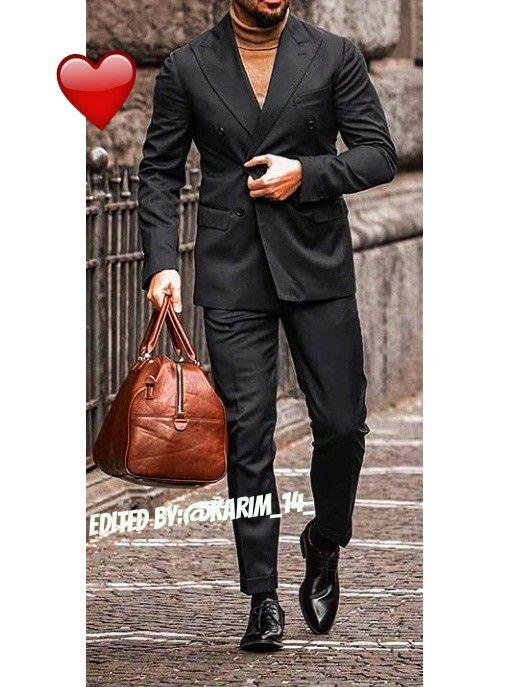 Man Fashion Mens Fashion Suit Jacket Single Breasted Suit Jacket