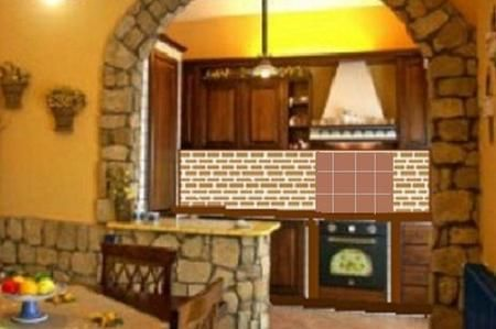 Cocina con arco buscar con google decoraci n pinterest for Arcos de ladrillo rustico