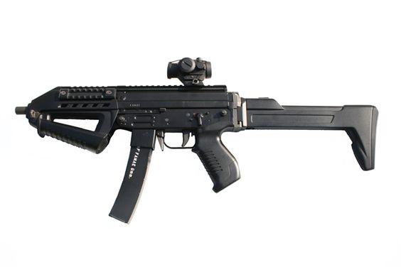 SAF 200 Chilean Submachine Gun: