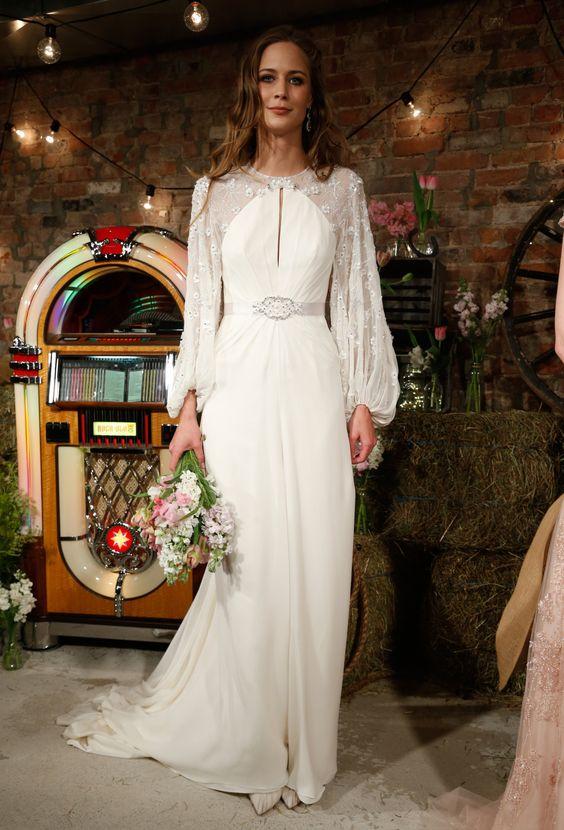 Wedding dress - Jenny Packham 2017 Bridal Collection   itakeyou.co.uk