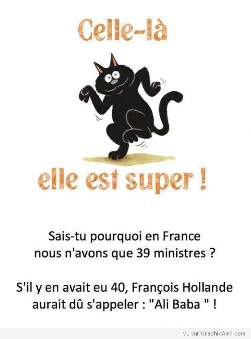 Sais-tu en France pourquoi nous n'avons que 39 ministres ? http://www.graphicami.com/hollande-et-les-39-ministres.html: