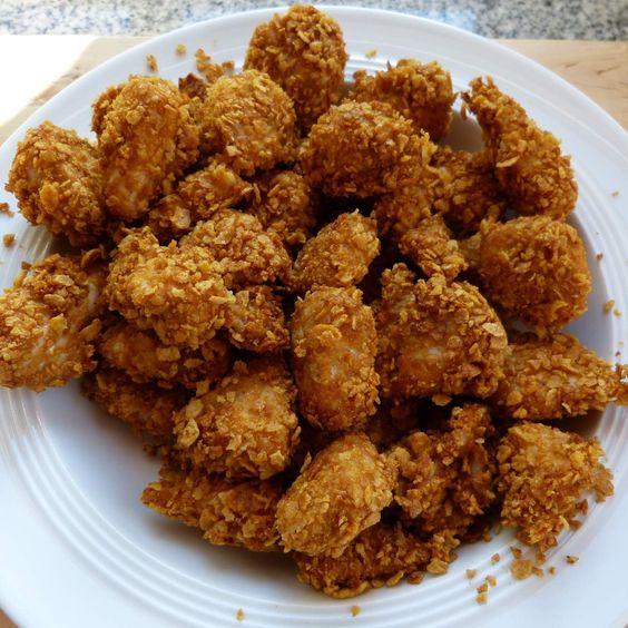 Rezept Chicken Nuggets ruckzuck von Cajun - Rezept der Kategorie Hauptgerichte mit Fleisch
