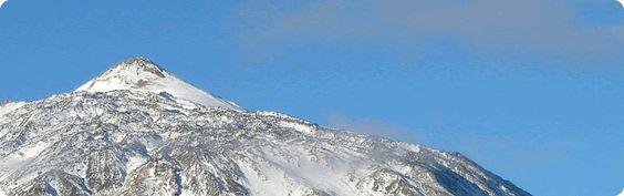 Permiso para subir al pico de Teide.