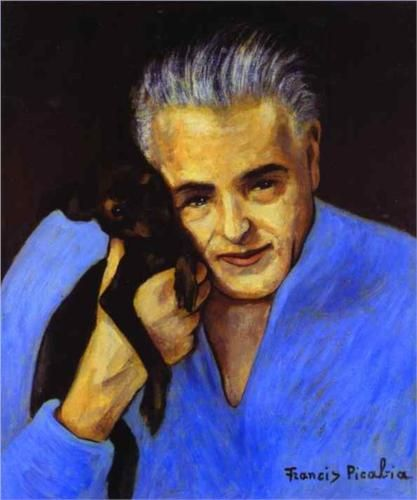 Francis Picabia, self-portrait, 1946