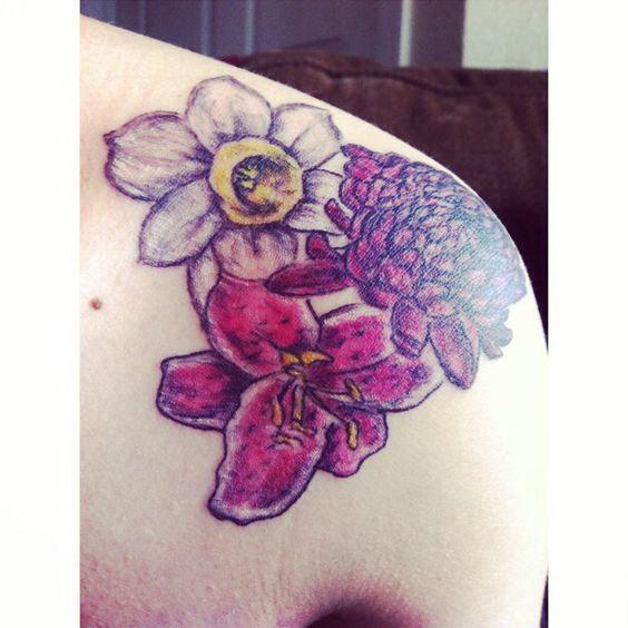 Tattoo I got for my children.