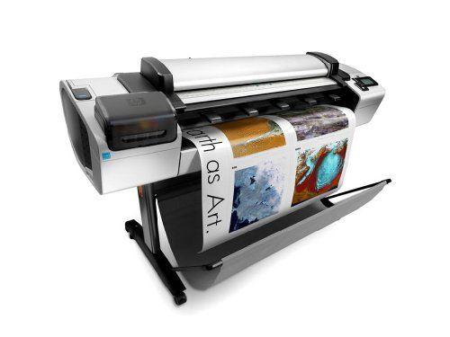 Electronics: HP CN727A - Designjet T2300 eMFP 44 Wide-Format Inkjet Printer