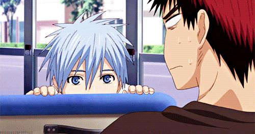 How to creep people out; ask Kuroko.