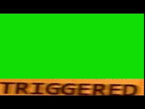 Triggered Video Effect Green Screen With Sound No Copyright Youtube Greenscreen Youtube Editing First Youtube Video Ideas