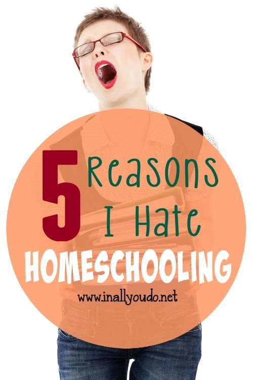 We all have those days that make us wonder why we started this journey in the first place. But, there are 5 Things I *hate* about Homeschooling - ALWAYS. :: www.inallyoudo.net