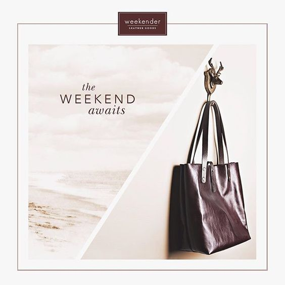 Falls perfect carryall - our rich berry tote is the perfect burgundy to spice up your autumn wardrobe! http://weekenderleathergoods.com/products/market-tote-burgundy #weekenderleathergoods #handmadeleather #markettote #leatherbag #totebag