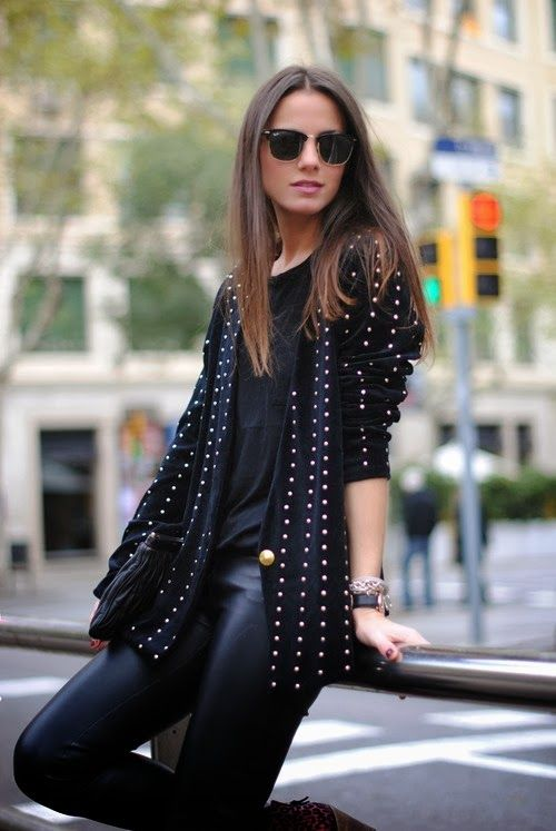 GirlBelieve: Fashion, style, trends, how to wear ideas, inspiration: Back to Black.