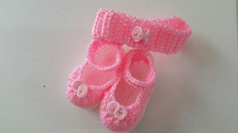 Conjunto para Bebé en crochet