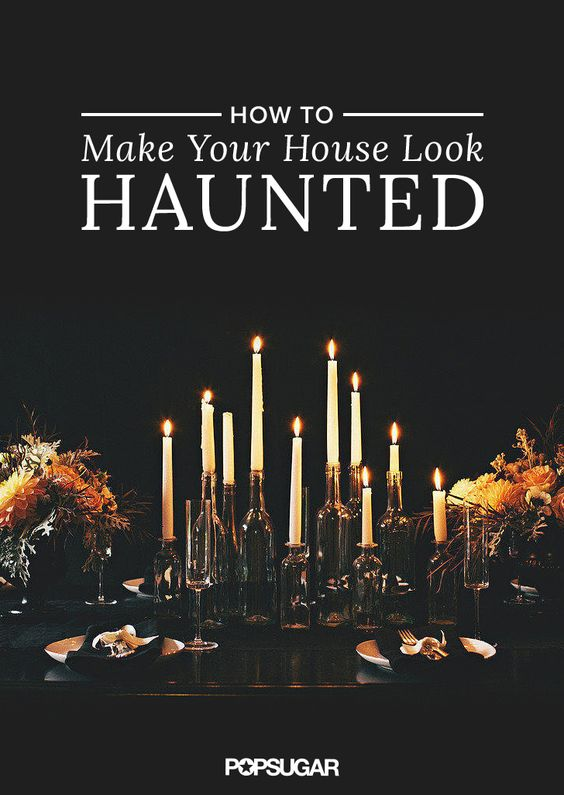 Haunted Houses How To Have And The Block On Pinterest