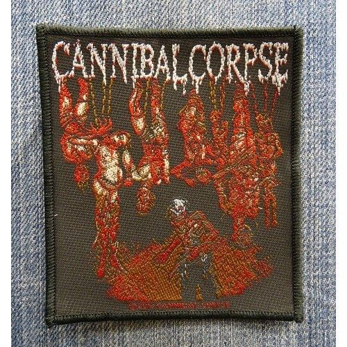 NEW IN STOCK! Cannibal Corpse Official Merchandise Product SEW-On-Patch TORTURE  http://ift.tt/1KTJVkm