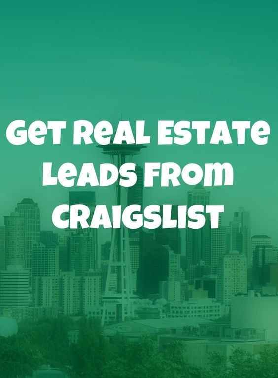 Want more leads on a budget? Craigslist is ripe with leads and hears a guide on how to get them. The best part? You don't have to know anything about internet marketing to get these leads! Re-Pin so you can easily find this later.   #realestate #marketing