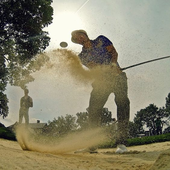 Short game work for Freddie Jacobson at Oak Hill. #GoPro #Golf