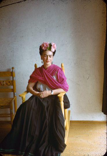 Frida Kahlo: by Nickolas Muray