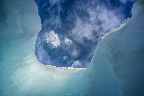 冰柱与天空 #高原小镇