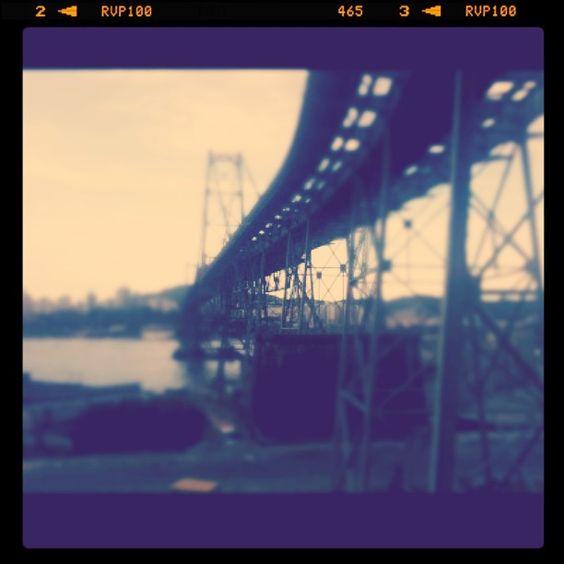 @extragr_am ponte Hercílio Luz lado continental