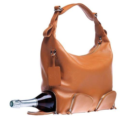 Purses that fit our style... Handbags that put the wine first via NY Daily News.